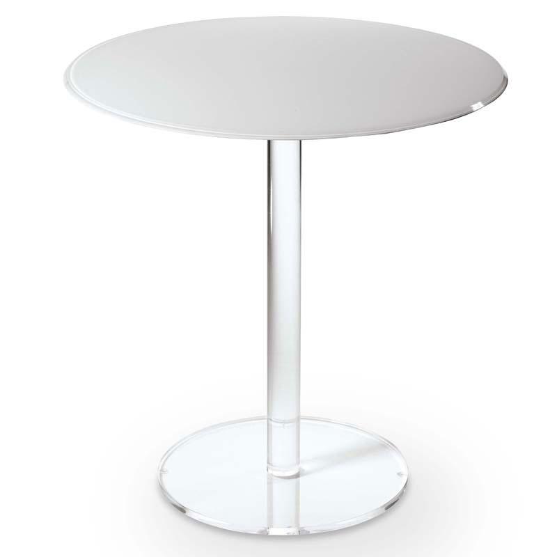 ... diametro 50xh75 cm ROUND in plexiglas trasparente spessore 10 mm
