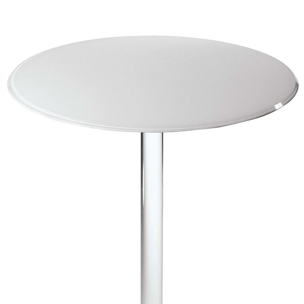 Tavolini Da Salotto Plexiglass.Tavolinetto Rotondo Diametro 50xh50 Cm Round In Plexiglas