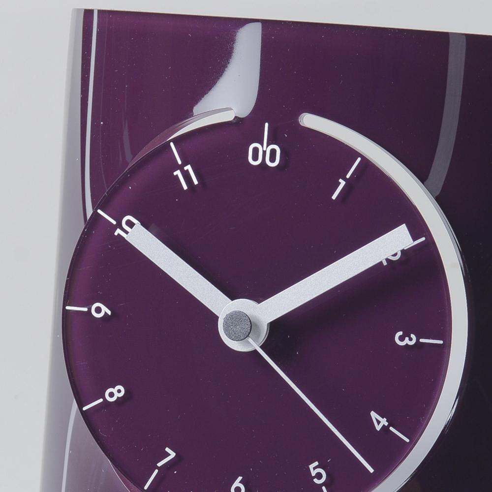 Orologio da tavolo in Plexiglas FUTURE 20,5x13x18,5cm colore ...