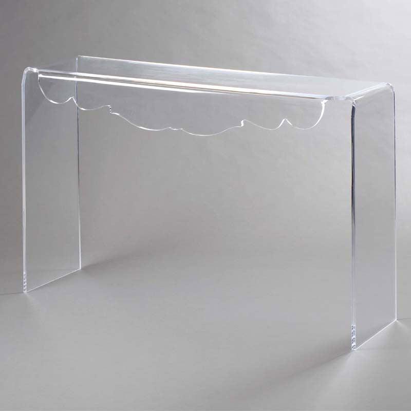 consolle cm deco in plexiglass trasparente