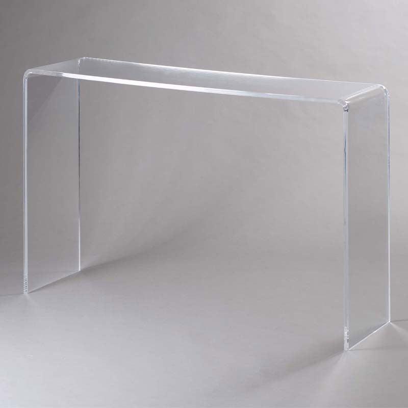 Consolle in plexi trasparente simply 15 mm 113x31x76 5cm - Ikea scatole plastica trasparente ...
