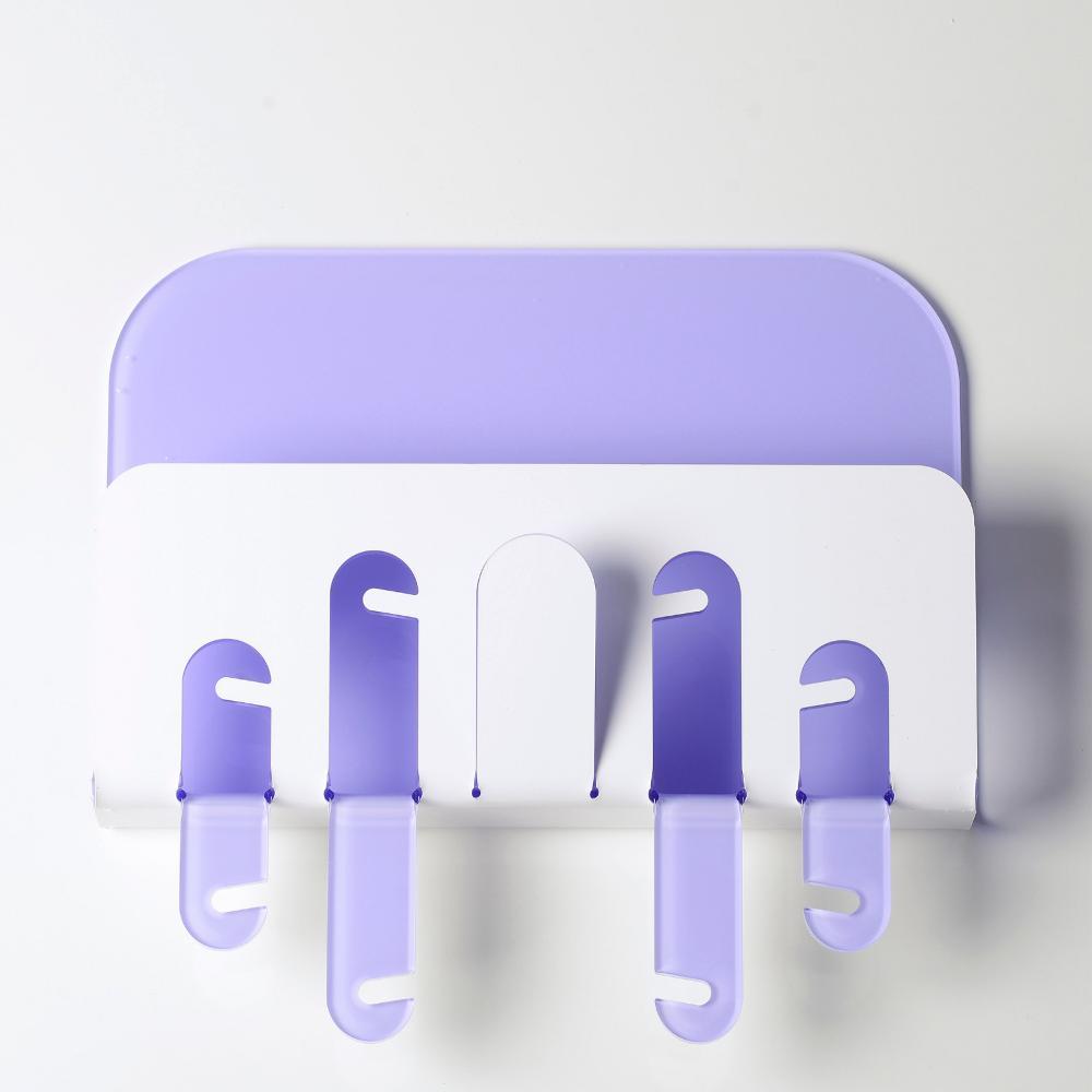 Portachiavi portaposta da muro 30x6xh33cm r2 in plexiglas bicolore ...