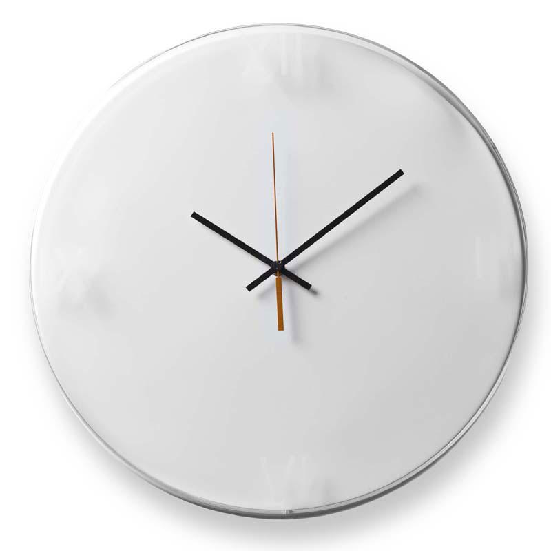 Orologio da muro tondo quadrante in alluminio Time   Vesta ...