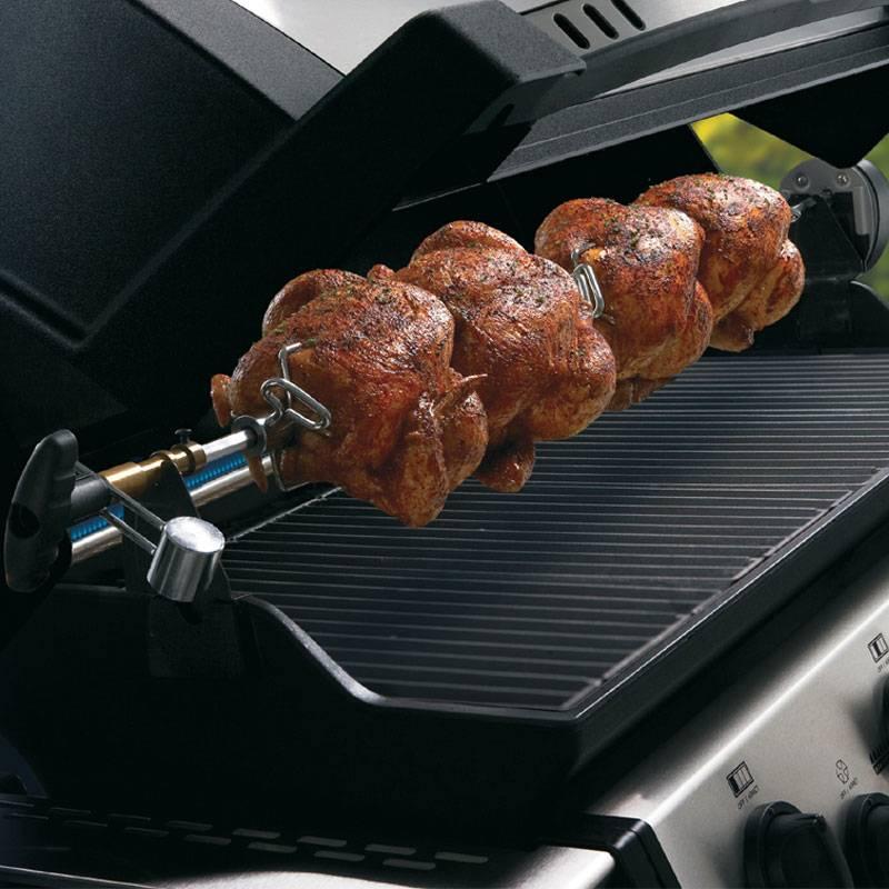 Barbecue Regal 590 Broil King Cinque bruciatori Dual-Tube in acciaio inox  da 15.00 Kw con fornello laterale | Broil King | Stilcasa.Net: barbecue a  gas