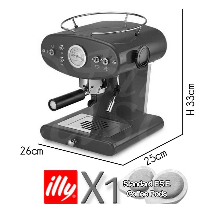 Macchina da caffe X1 a cialde ESE TRIO Bianca | illy | Stilcasa.Net ...