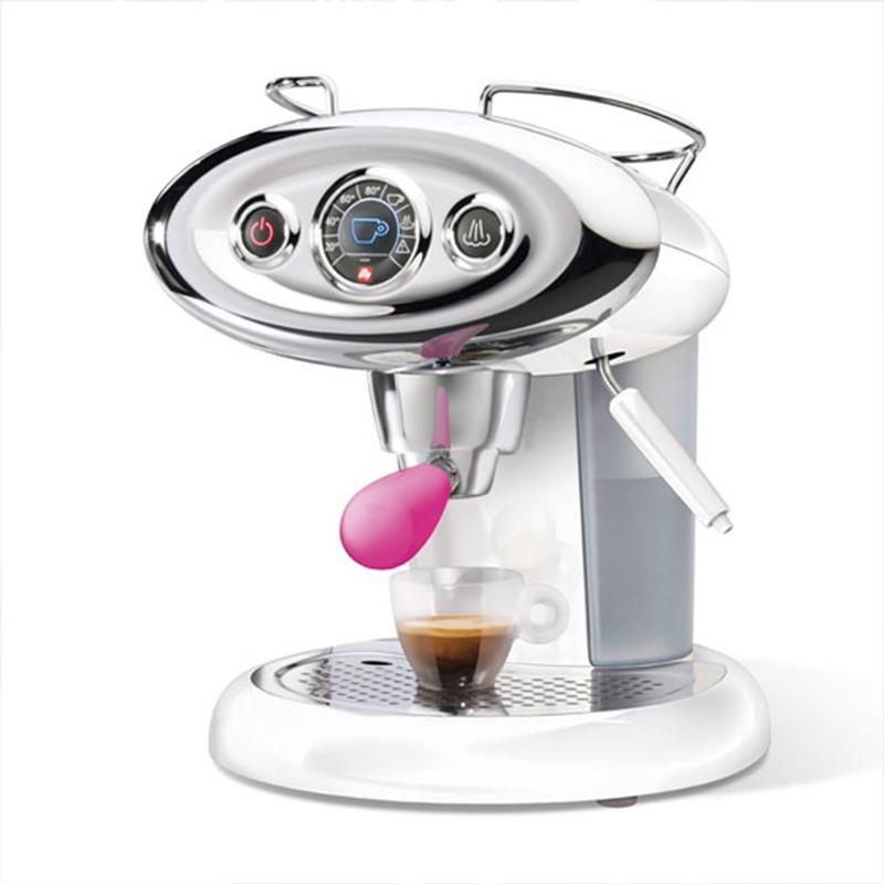Macchina da caffe illy iperespresso X7.1 Limited Edition manico Rosa | illy