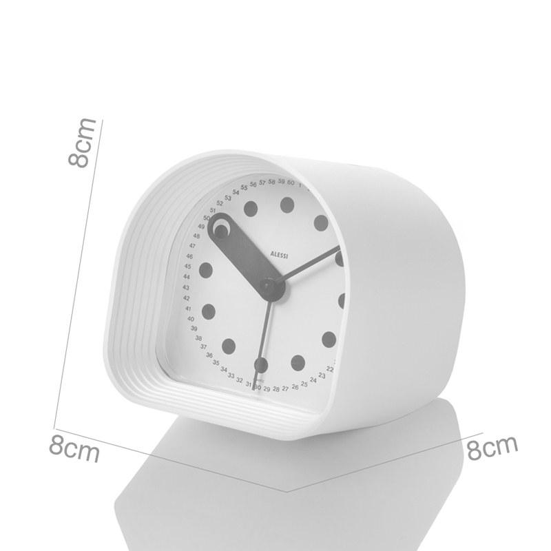 Orologio sveglia da tavolo con timer optic alessi for Timer alessi prezzo