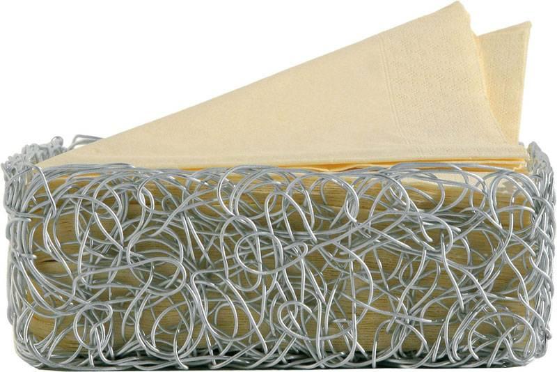 Alessi porta tovaglioli afc18 in alluminio anodizzato for Padelle alessi prezzi