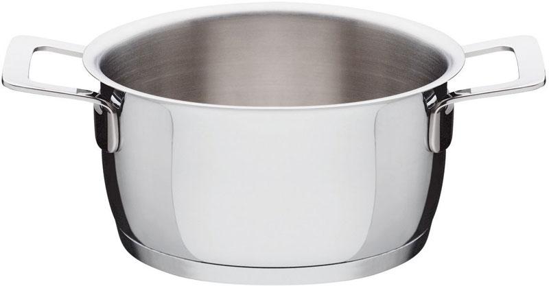Alessi casseruola fonda ajm101 2 manici in acciao inox for Offerte pentole alessi