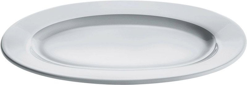 Piatto da portata ovale in porcella alessi stilcasa - Piatti da portata particolari ...