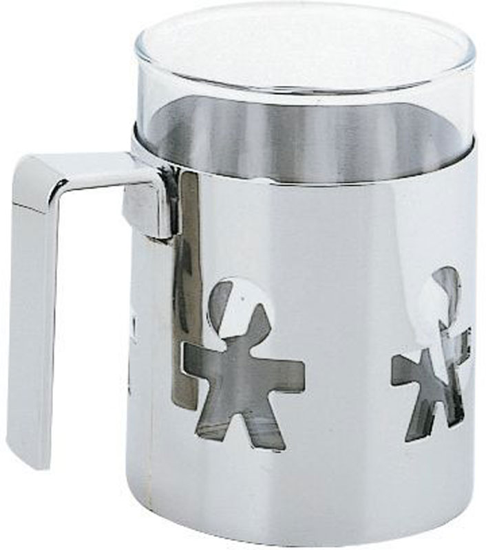 Alessi mug acciaio girotondo akk21 in acciaio inox 1810 for Alessi girotondo prezzo