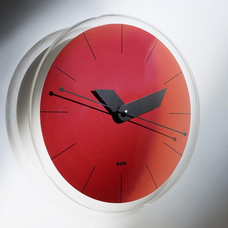 Orologio da partete Alessi in Resina termoplastica Designer: Alessandro  Mendini | Alessi