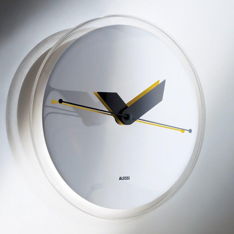 Orologio da partete Alessi in Resina termoplastica Designer ...
