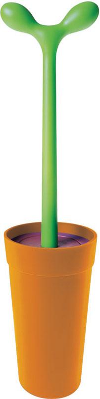 alessi scopino da bagno asg04 merdolino design: stefano giovannoni ... - Scopino Da Bagno Design