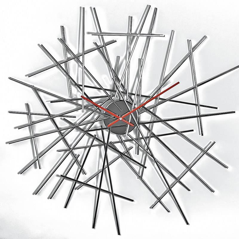 Orologio da Parte BLOW UP Acciaio Cromo Designer: Fratelli Campana | Alessi