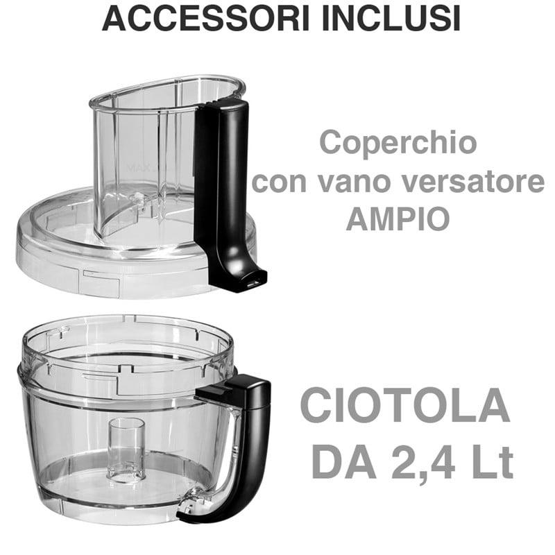 Food processor kitchenaid crema da 3 1 lt kitchenaid for Pentole kitchenaid