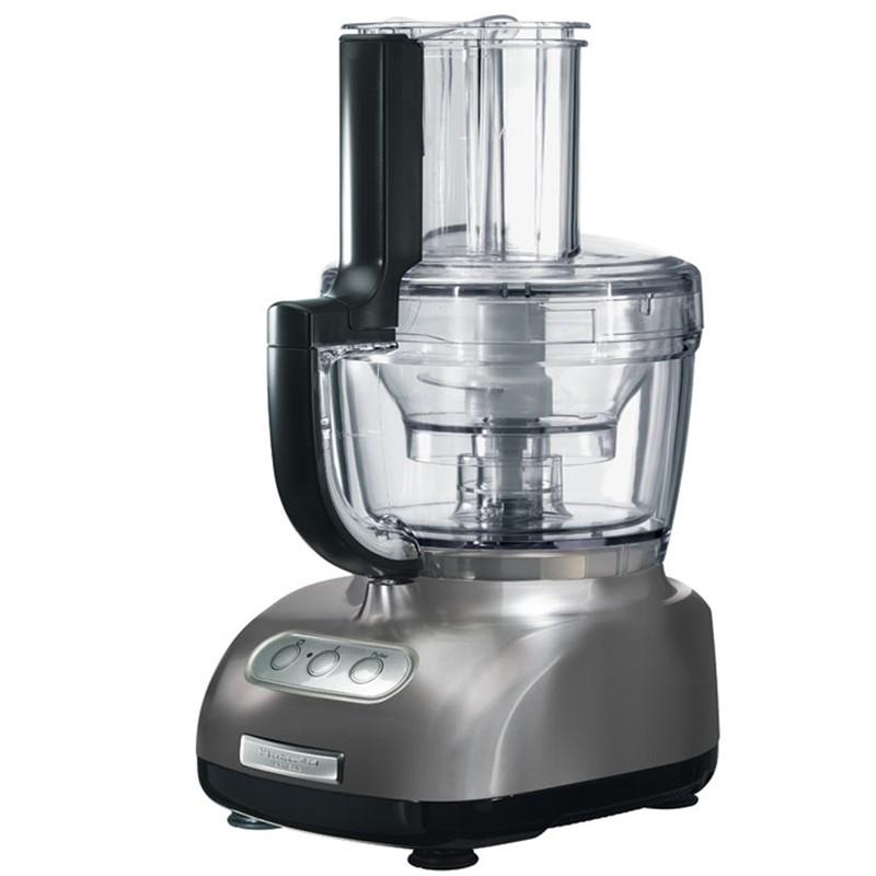 Food processor kitchenaid grigio m da 3 1 lt kitchenaid for Pentole kitchenaid