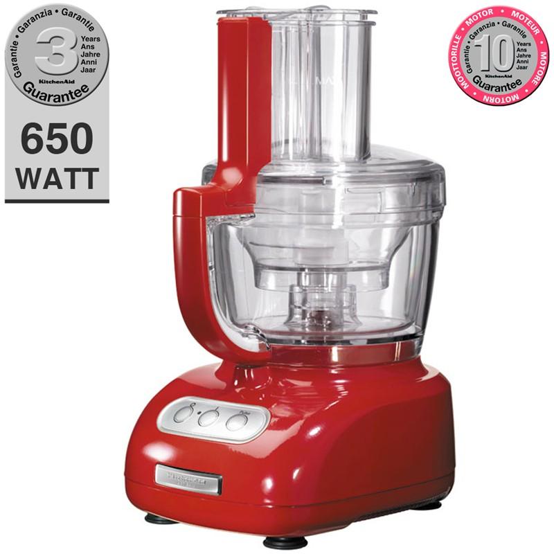 food processor kitchenaid rosso da 3.1 lt | kitchenaid | stilcasa ... - Kitchenaid Robot Da Cucina