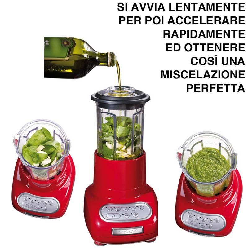 Frullatore kitchenaid Artisan Giallo a 5 velocita potenza 550W ...
