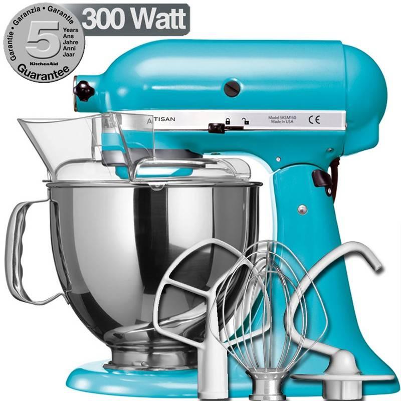 Kitchenaid artisan blu cristallo 300w garanzia italiana for Pentole kitchenaid