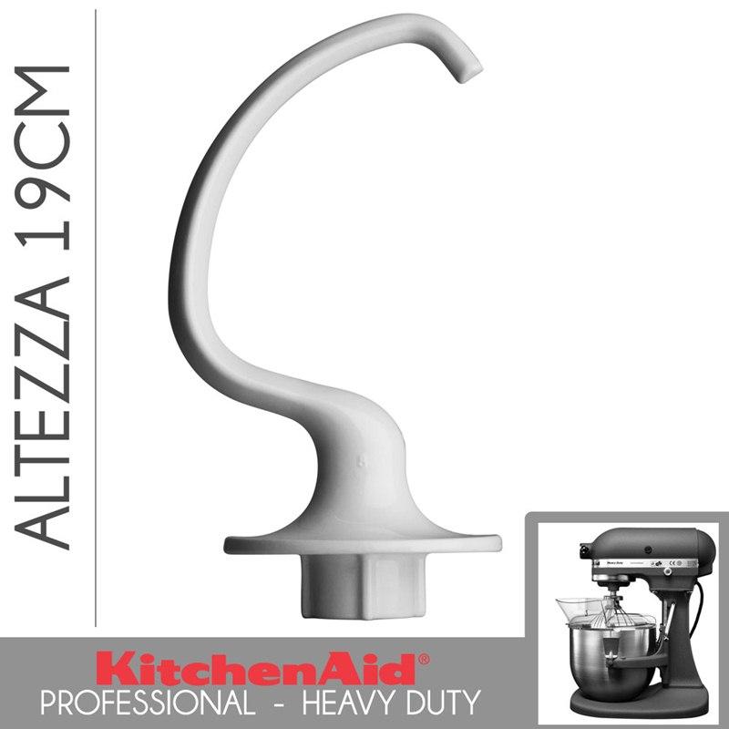 Kitchenaid accessori gancio impastatore kitchenaid pro for Pentole kitchenaid