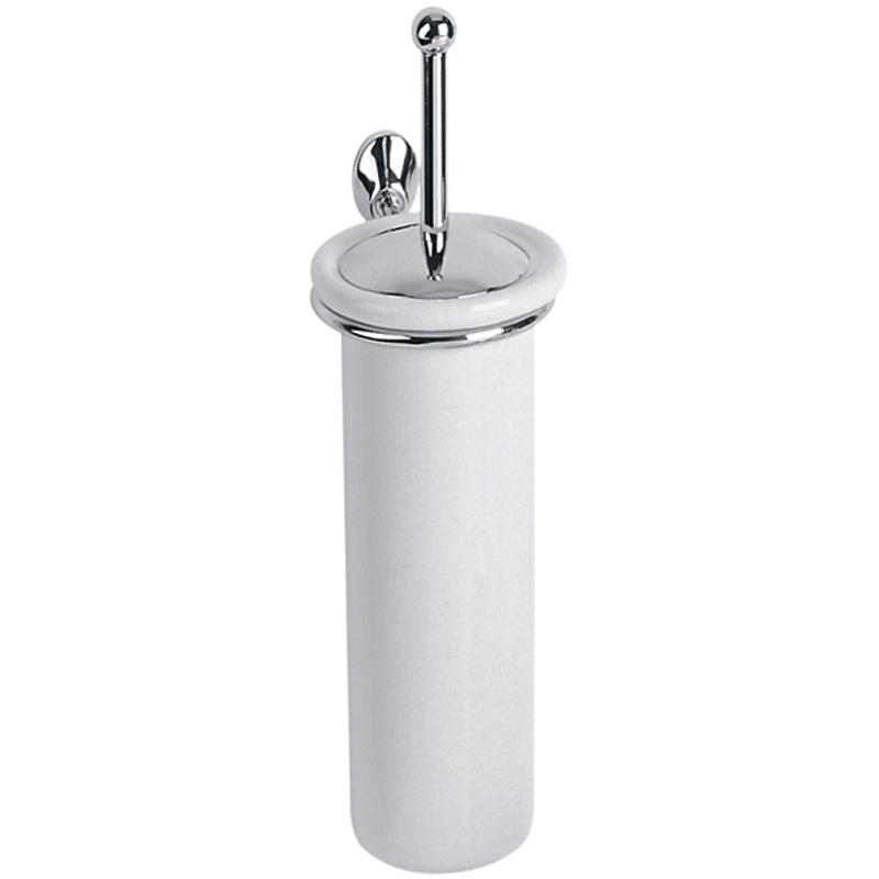 Porta scopino sospeso in ceramica linea g stilcasa net scopini e porta scopini - Porta scopino bagno ...