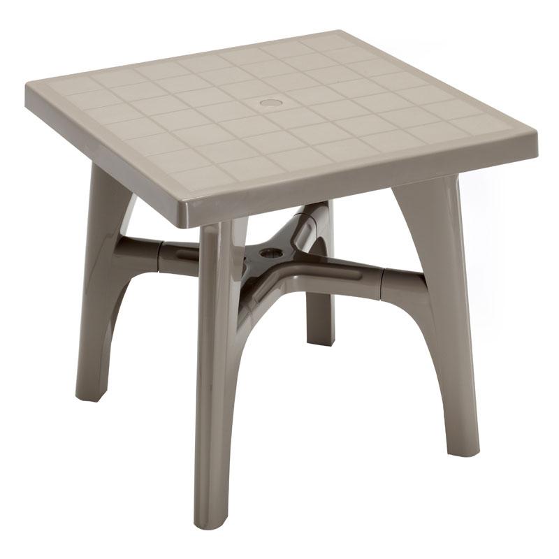 Tavolo da esterno 100percento resina compound inalterabile for Scab giardino s p a