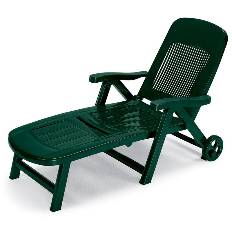 Lettino elegant verde bosco scab scab giardino s p a for Scab giardino s p a