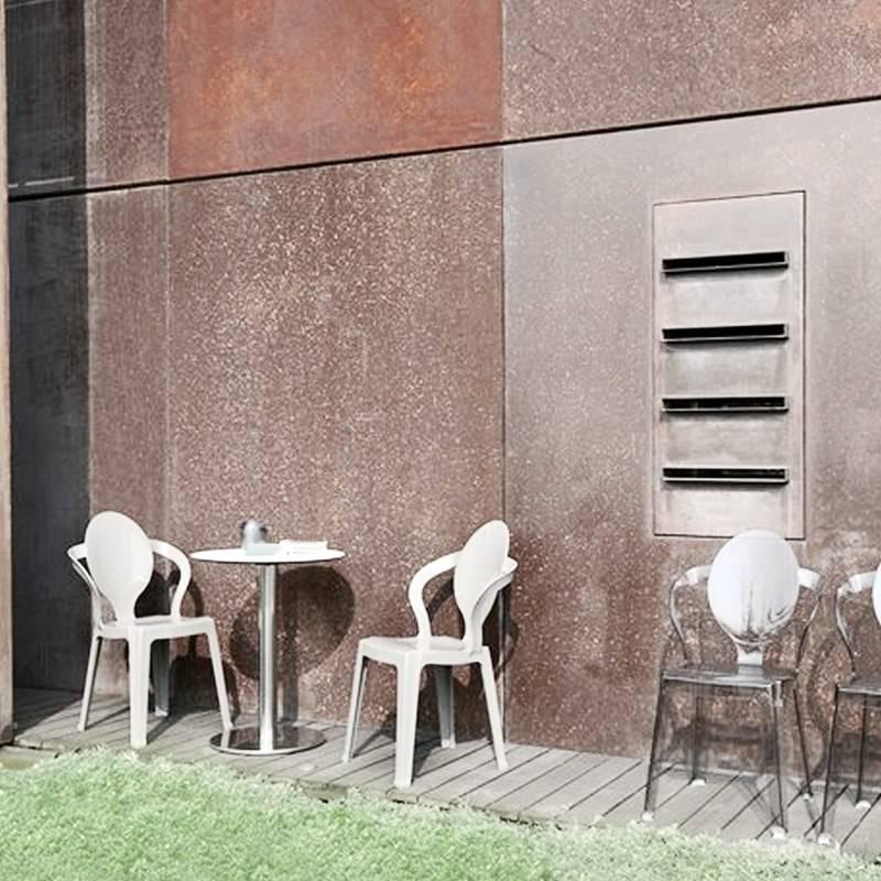 Scab sedia spoon bianco 4 pz scab giardino s p a for Scab giardino s p a