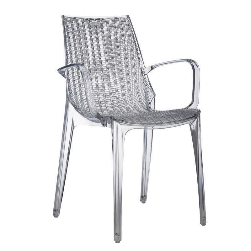 Sedia tricot con braccioli 2 pz scab giardino s p a for Scab giardino s p a