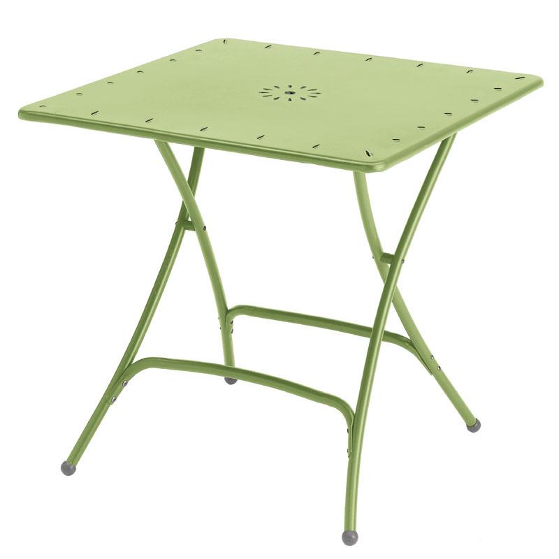 Tavolo quadrato 80x80 verdetiglio scab giardino s p a for Tavolo quadrato 80x80 allungabile