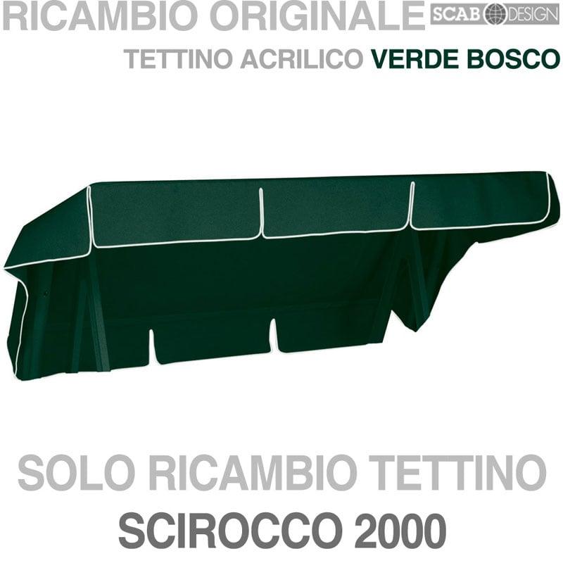 Ricambi Dondolo Da Giardino.Tettino Verde Dondolo Scirocco 3pt Scab Giardino S P A Stilcasa