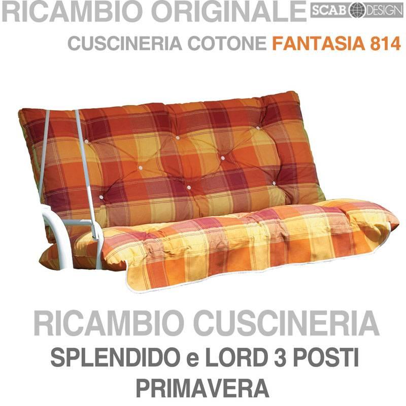 Cuscini dondolo 3 posti casamia idea di immagine for Scab giardino s p a