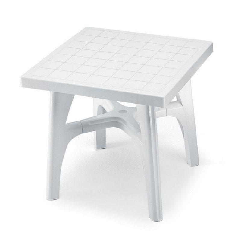 Tavolo quadromax quadrato 80x80 scab giardino s p a - Tavoli in resina da esterno ...