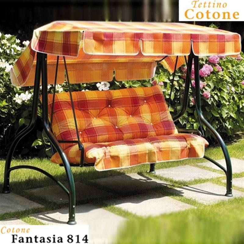 Dondolo splendido 3 posti verde scab giardino s p a for Scab giardino s p a