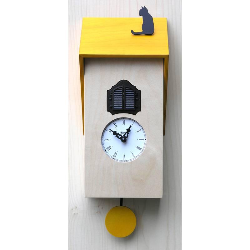 Orologio con cuc vicenza giallo pirondini stilcasa net orologi cucu - Orologi a cucu design ...