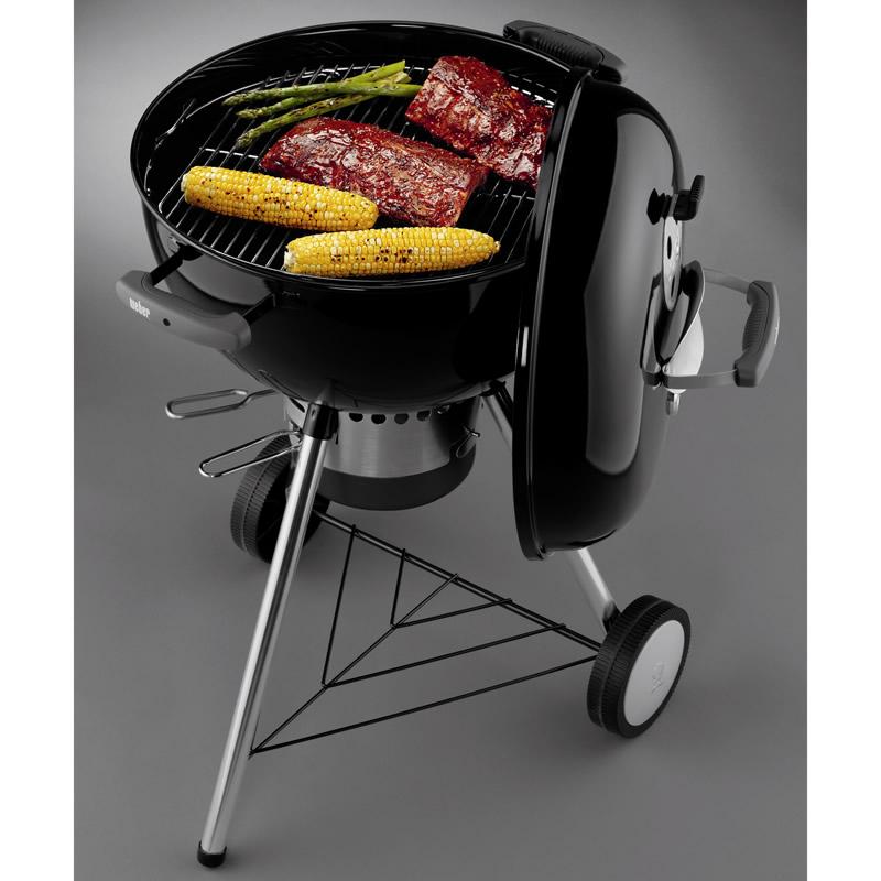 Barbecue one touch premium 47 weber stilcasa net for Barbecue weber one touch premium