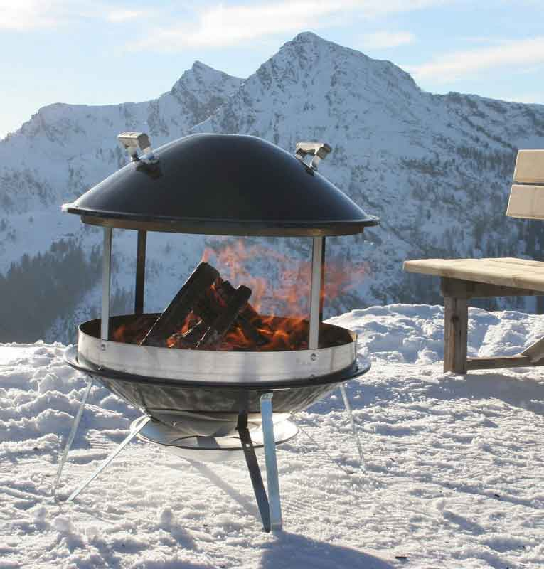 Caminetto mobile weber weber stilcasa net for Cheminee exterieur weber