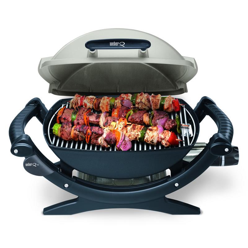Barbecue weber q140 elettrico weber stilcasa net for Accessoires barbecue weber q140