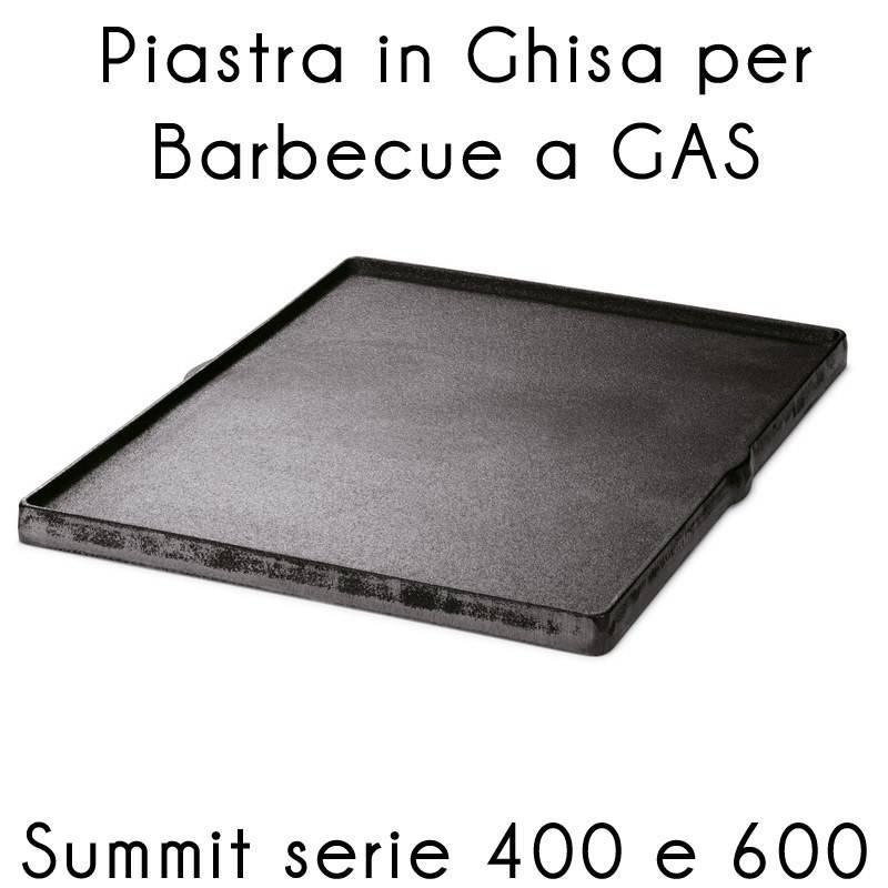 piastra ghisa summit serie 400 600 weber stilcasanet piastre