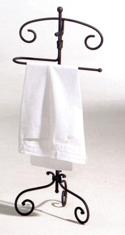 Porta abiti in ferro battuto vecchia europa stilcasa - Porta abiti da camera ...