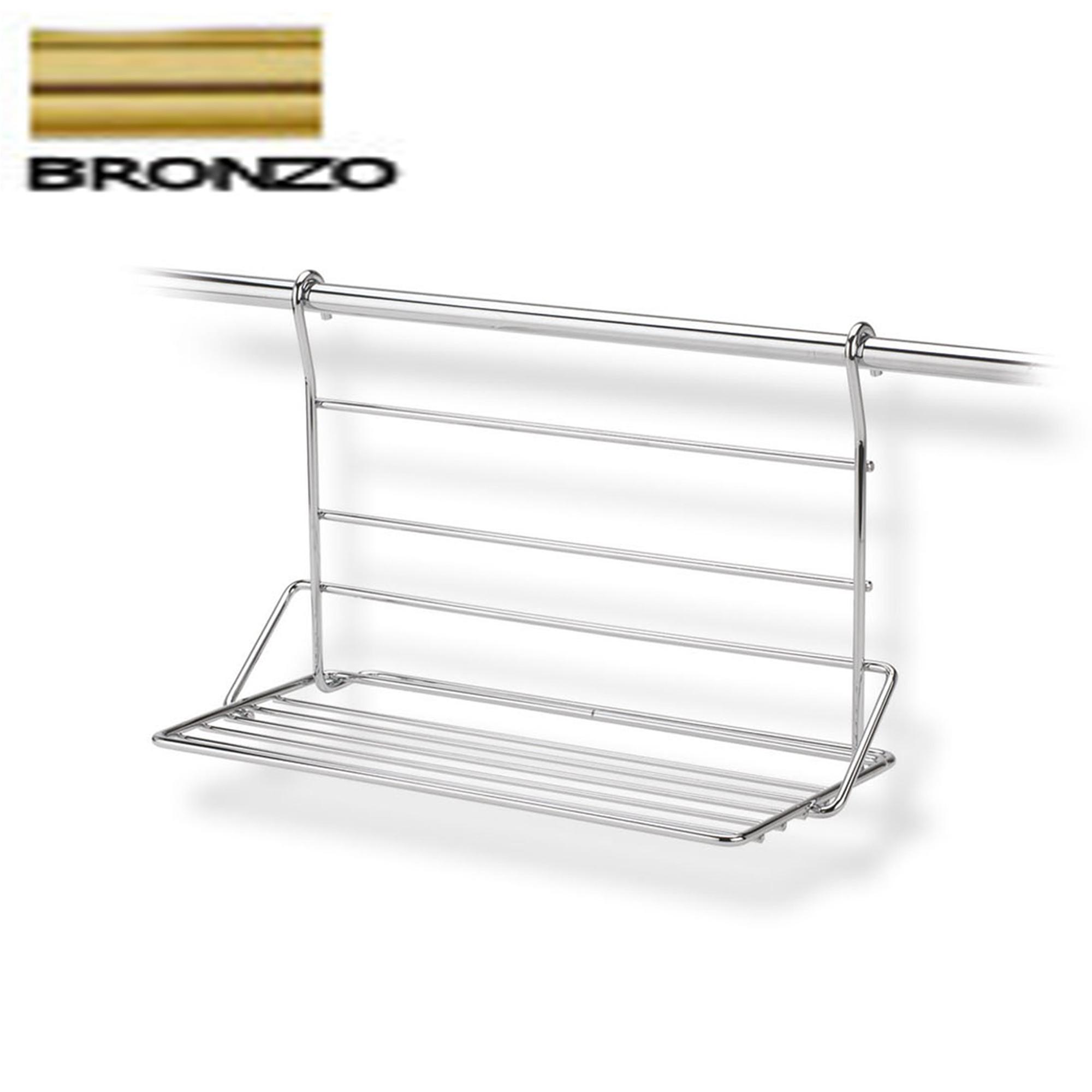 Mensola piccola 36x19xh23 cm applicabile alla barra da - Barra portautensili cucina ...
