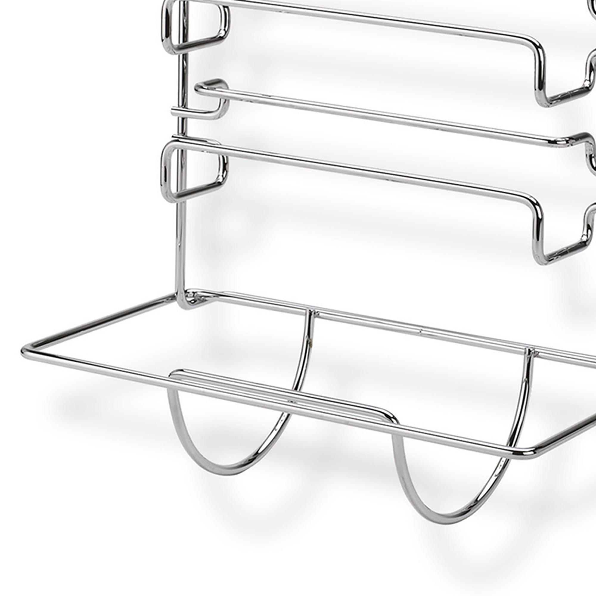 Portarotoli tris 30x19xh38 cm applicabile alla barra da - Barra portautensili cucina ...