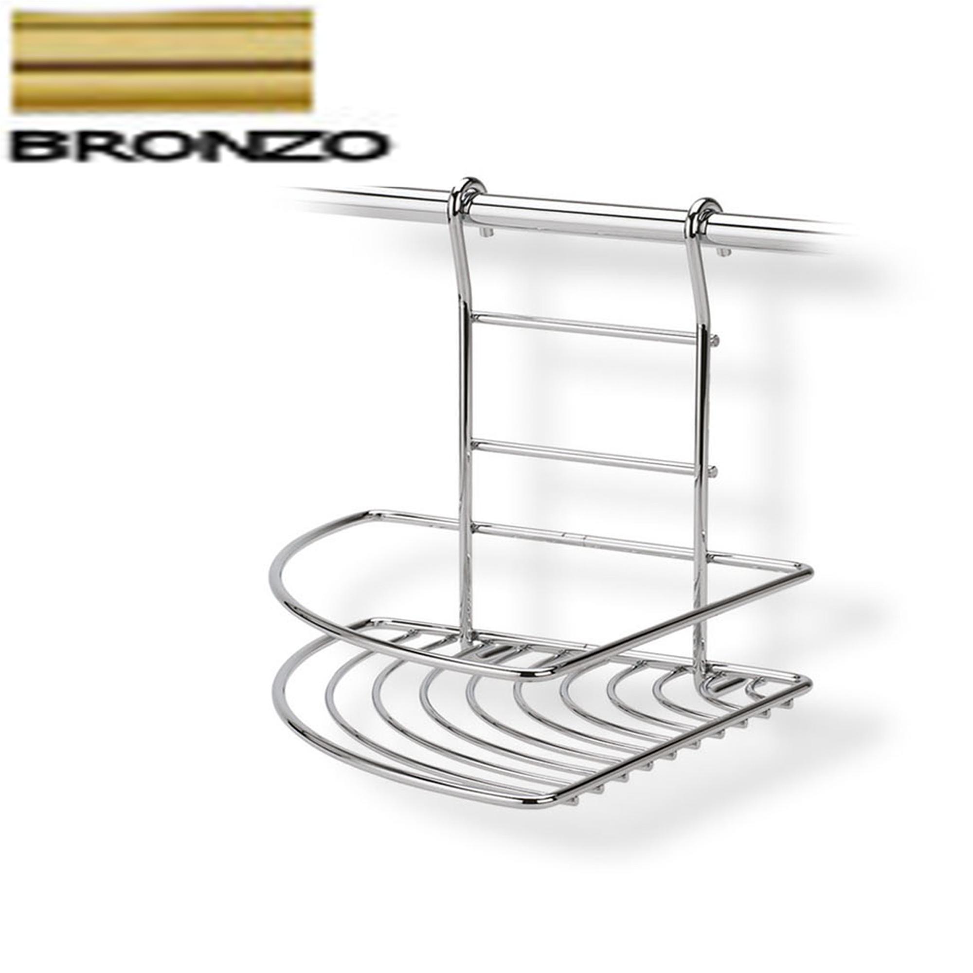 Mensola ad angolo destro 22x26xh23 cm applicabile alla - Barra portautensili cucina ...
