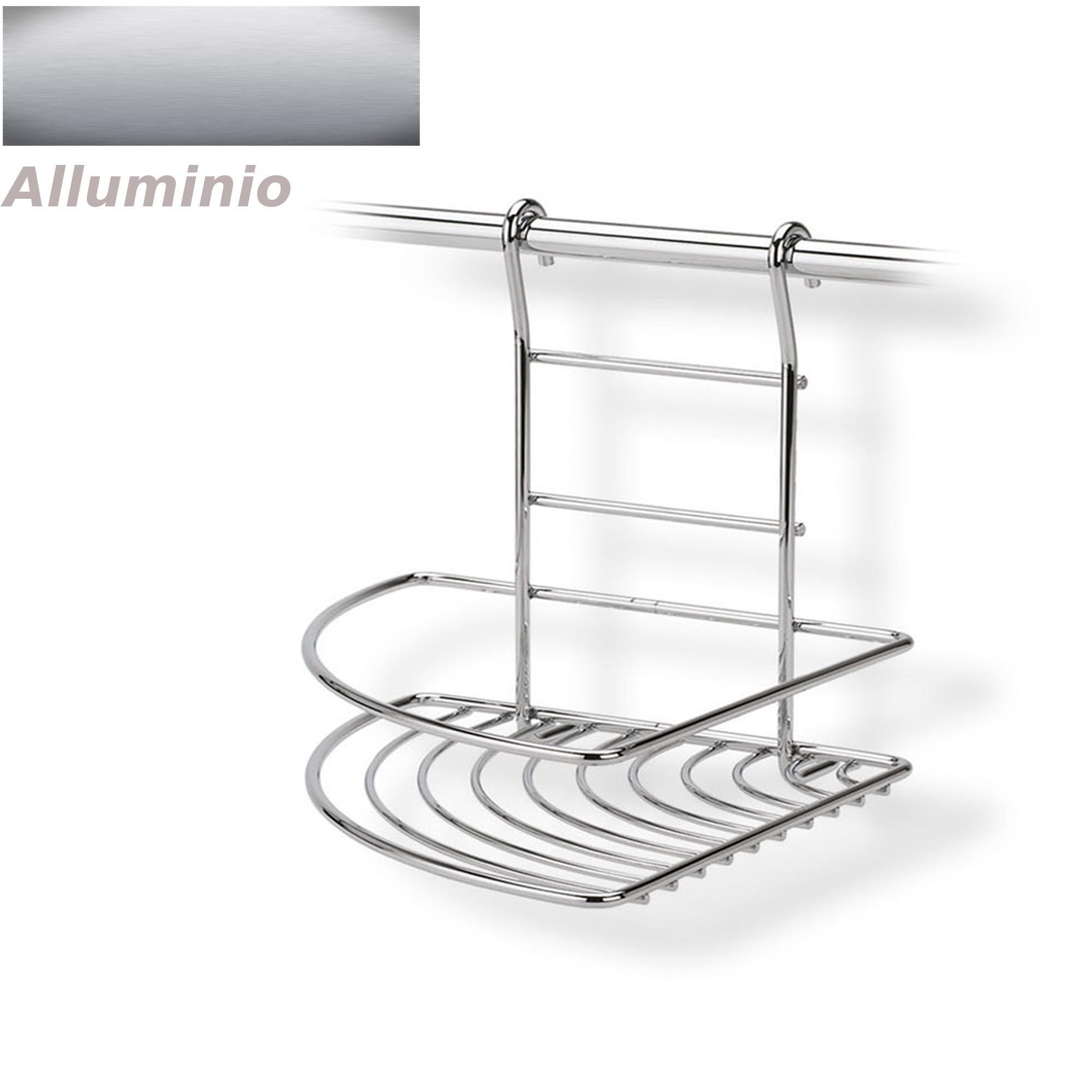 Mensola ad angolo destro applicabile alla barra da cucina - Barra portautensili cucina ...