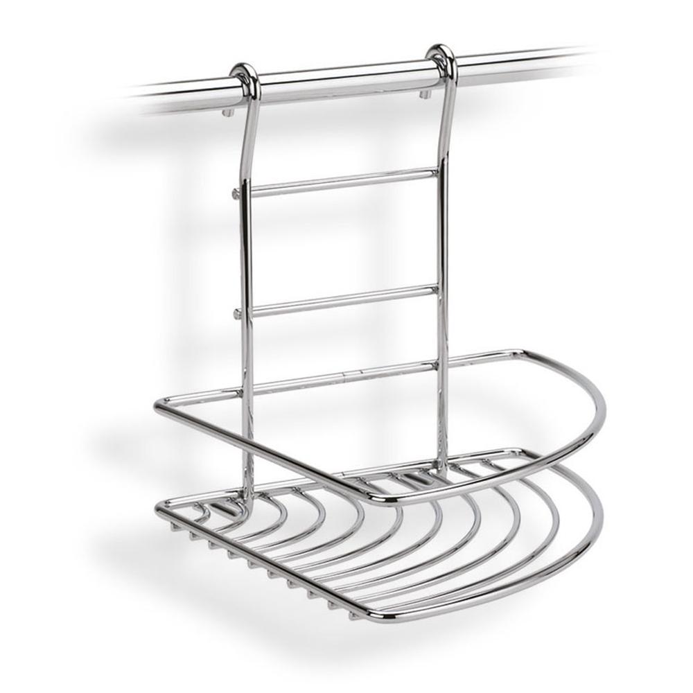 Mensola ad angolo sinistro applicabile alla barra da - Barra portautensili cucina ...