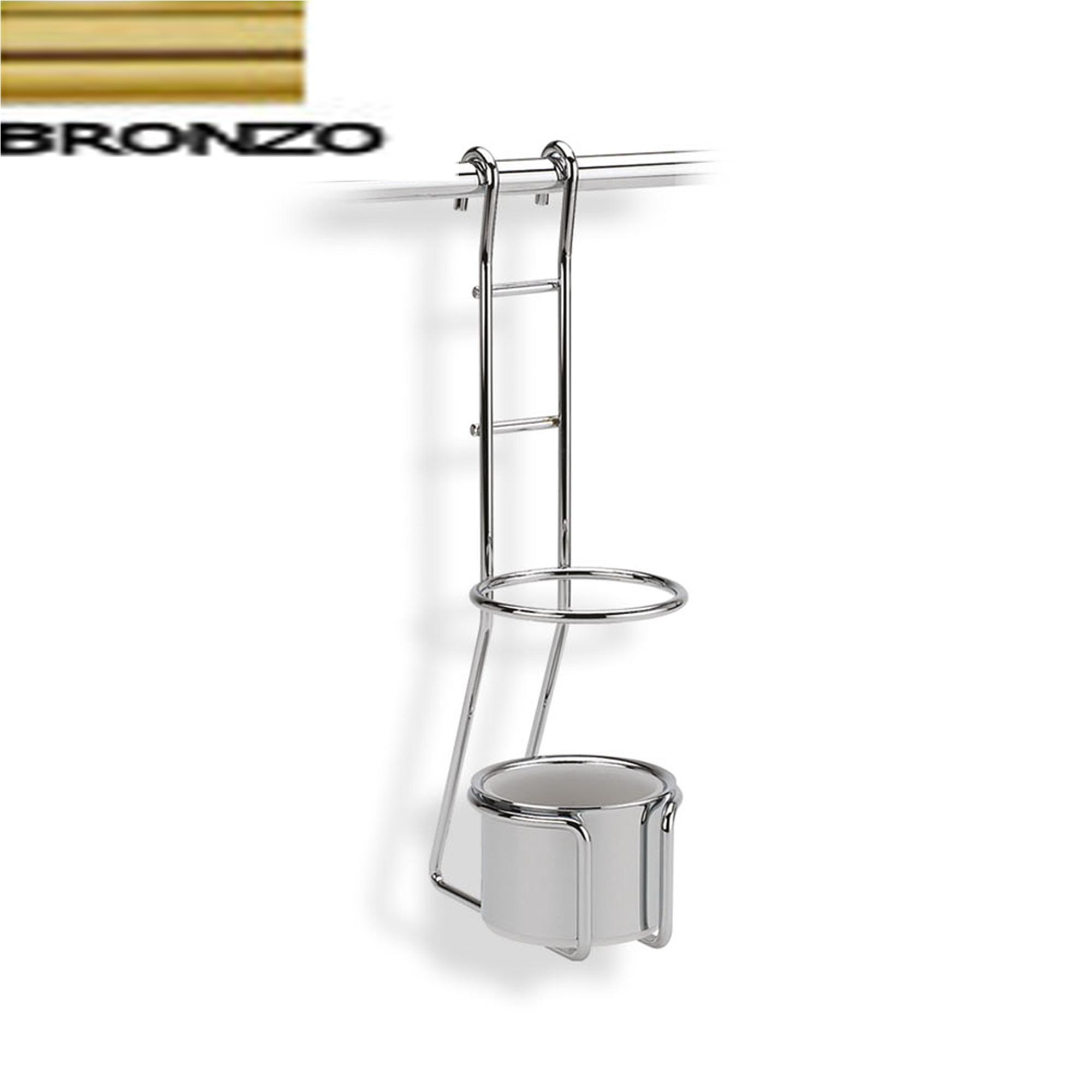 Portamestoli 14x10xh35 cm applicabile alla barra da cucina for Kit utensili da cucina