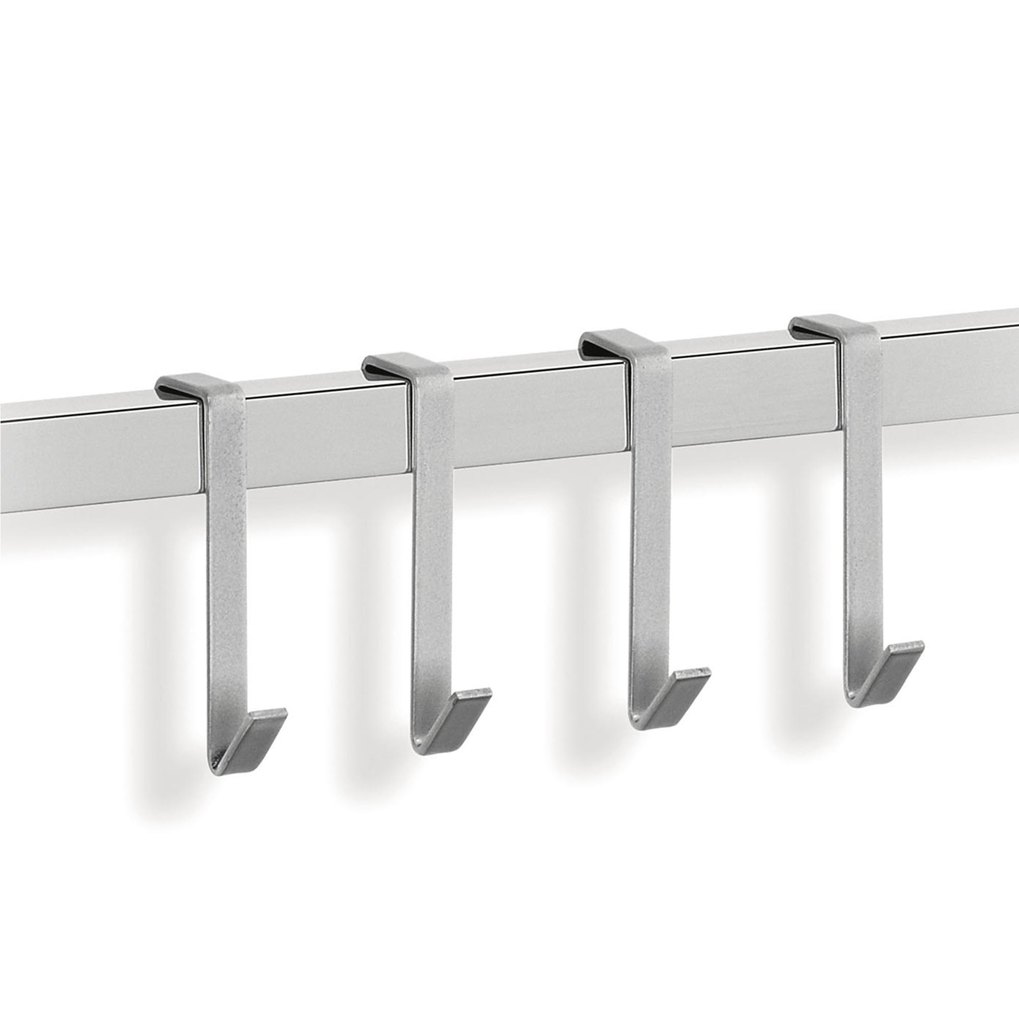 Ganci set 4pz linea quadro applicabili alla barra - Barra portautensili cucina ...
