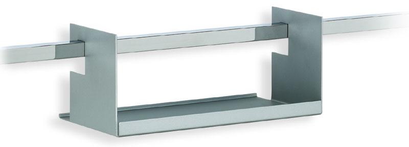 Mensola portaspezie linea quadro applicabile alla barra - Portaspezie da parete ...