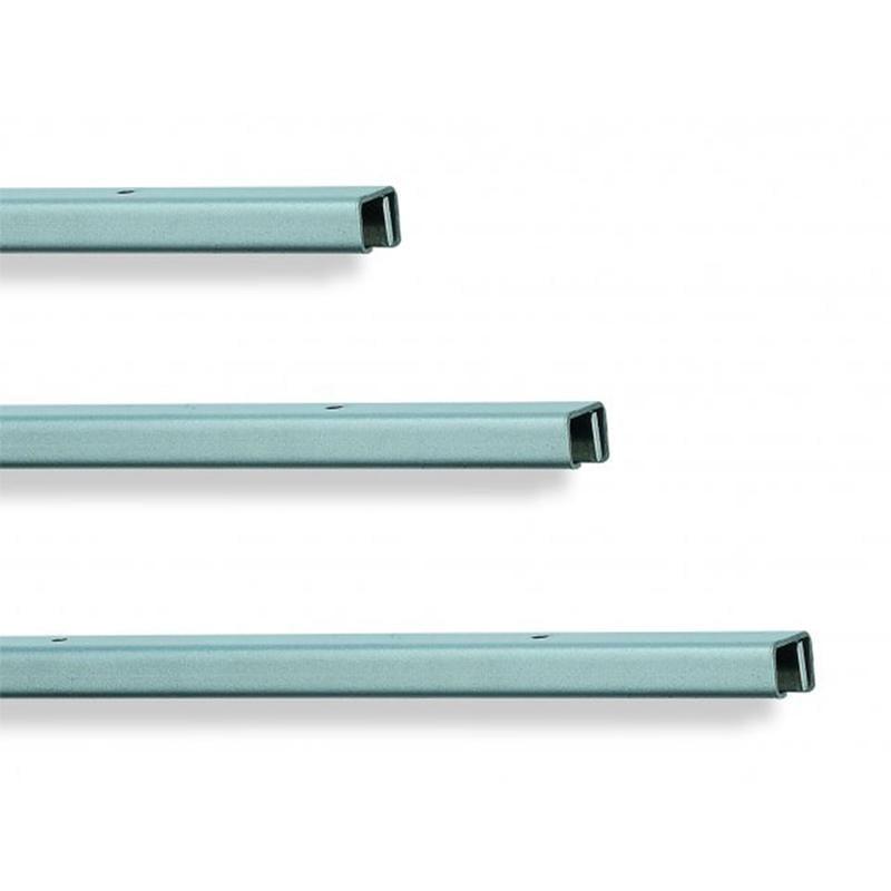 Binario Sottopensile in alluminio 1,90x60xh1,60 cm